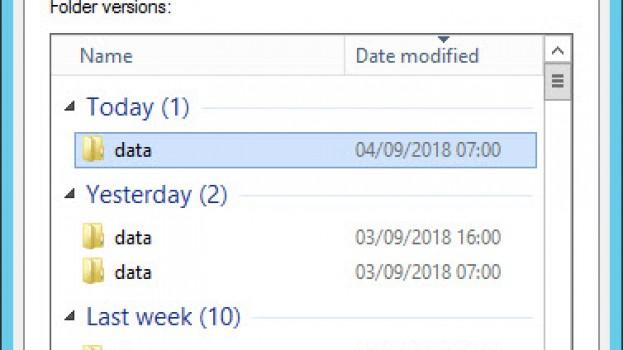 Restaurer Les fichiers d'une précédente version avec Robocopy (Long Filepath name)