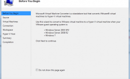 MVMC – Microsoft Virtual Machine Converter Solution Accelerator
