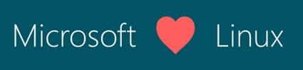 Microsoft Love Linux
